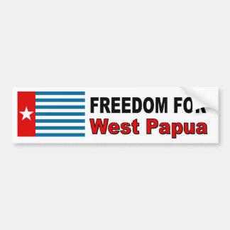 西のパプアのための自由 バンパーステッカー