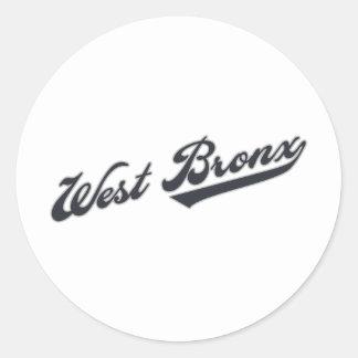 西のブロンクス ラウンドシール