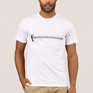 西のメンフィス3 (アーカンソーは行為のデザインを取ります) Tシャツ