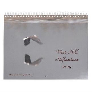 西の丘の反射2013年の写真… カレンダー