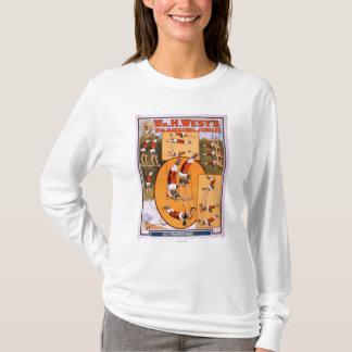 西の大きい吟遊詩人のJubileeGymnastsポスター Tシャツ