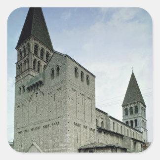 西の正面の眺め、第10第11世紀 スクエアシール