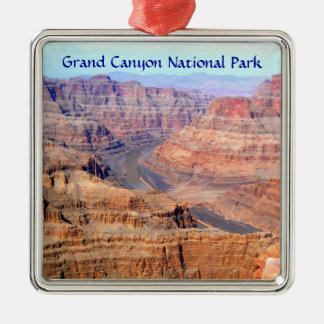 西の縁のグランドキャニオンの国立公園 メタルオーナメント