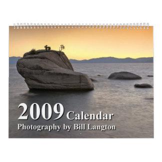 西の2009カレンダーのイメージ カレンダー