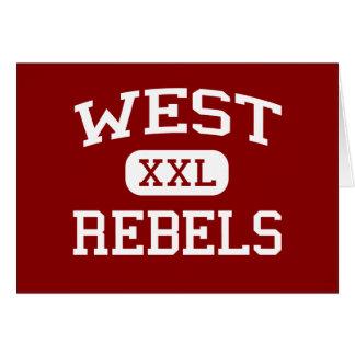 西の-反逆者-高等学校- Knoxvilleテネシー州 カード