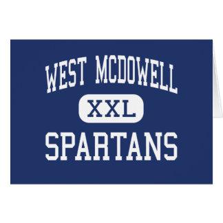 西のMcDowell - Spartans -後輩-マリオン カード