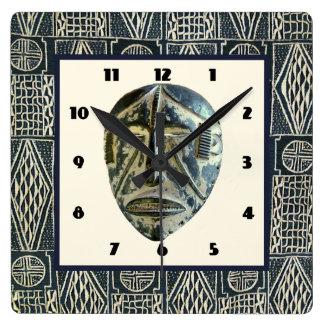 西アフリカ スクエア壁時計