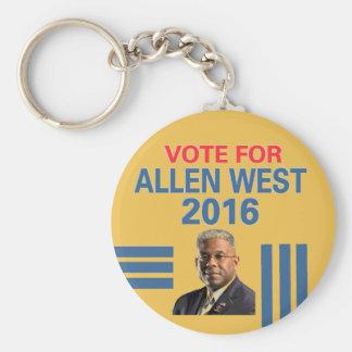 西アレンのための投票 キーホルダー