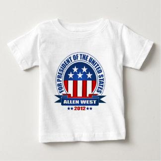 西アレン ベビーTシャツ