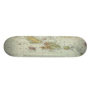 西インド諸島11 21.6CM オールドスクールスケートボードデッキ