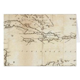 西インド諸島2の地図 カード