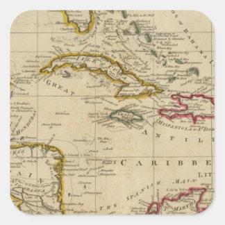 西インド諸島3の図表 スクエアシール