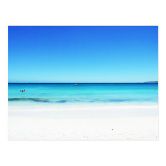 西オーストラリアのビーチ ポストカード
