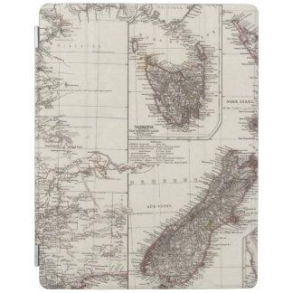 西オーストラリアタスマニアおよびニュージーランド iPadスマートカバー