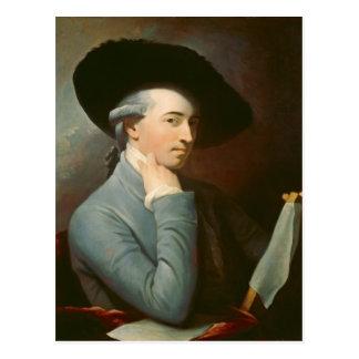 西ベンジャーミンc. 1776年(キャンバスの油) ポストカード