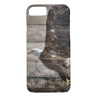 西欧諸国愛国心が強い米国のアメリカの白頭鷲 iPhone 8/7ケース