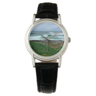 西海岸の波の腕時計 腕時計