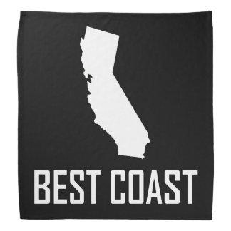 西海岸最も最高のなカリフォルニア白 バンダナ