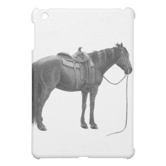 西部のクォーター馬 iPad MINI カバー