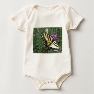 西部のトラのアゲハチョウの蝶 ベビーボディスーツ