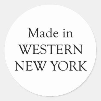 西部のニューヨークで作られる ラウンドシール