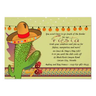 西部のフェスタの招待状 カード
