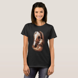 西部のブロンドの女性 Tシャツ