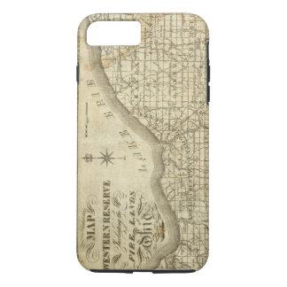 西部の予備の地図 iPhone 8 PLUS/7 PLUSケース