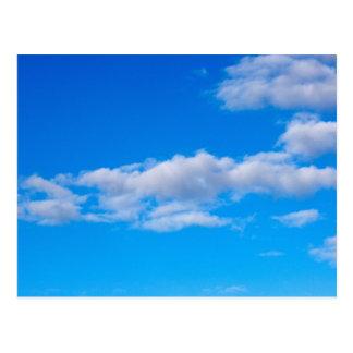 西部の南極上の積雲 ポストカード