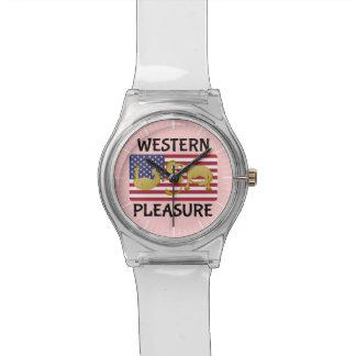 西部の喜びの馬米国 腕時計