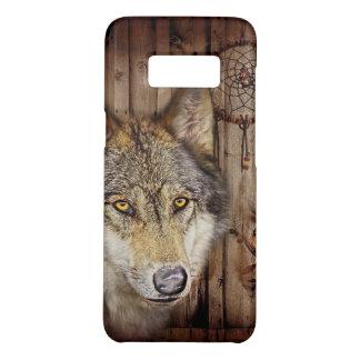 西部の夢のキャッチャーの原産のアメリカインディアンのオオカミ Case-Mate SAMSUNG GALAXY S8ケース