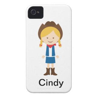 西部の女性のカーボーイのiphone 4ケース Case-Mate iPhone 4 ケース
