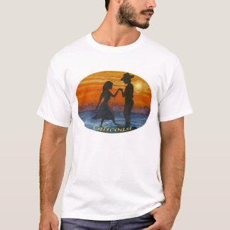 西部の日没の恋人 Tシャツ