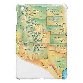 西部の米国の地図 iPad MINI CASE