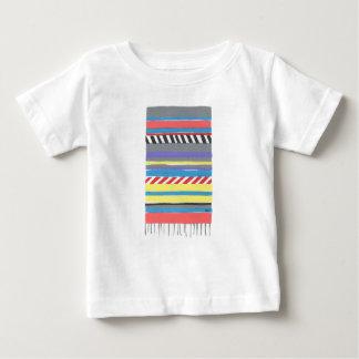 西部の総括的なカウボーイの女性のカーボーイ ベビーTシャツ