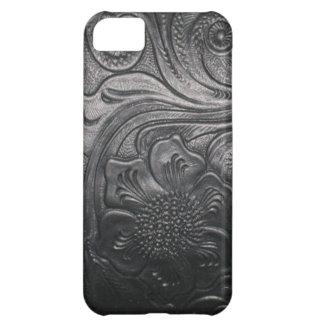 西部の革用具のプリントのiPhone 5の場合 iPhone5Cケース