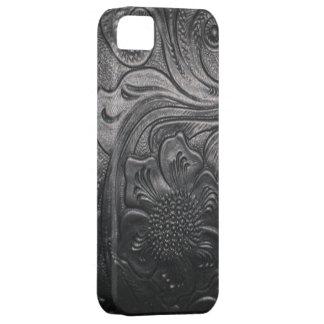 西部の革用具のプリントのiPhone 5の場合 iPhone SE/5/5s ケース