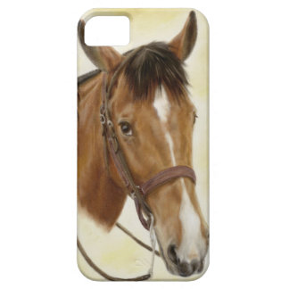 西部の馬のiPhone 5の場合 iPhone 5 カバー