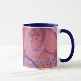 西部の(占星術の)十二宮図-ジェミニマグ マグカップ