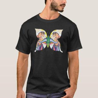 西部の(占星術の)十二宮図-ジェミニ Tシャツ