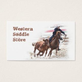 西部のSaddleryの名刺 名刺