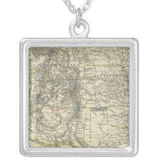 西部米国 シルバープレートネックレス