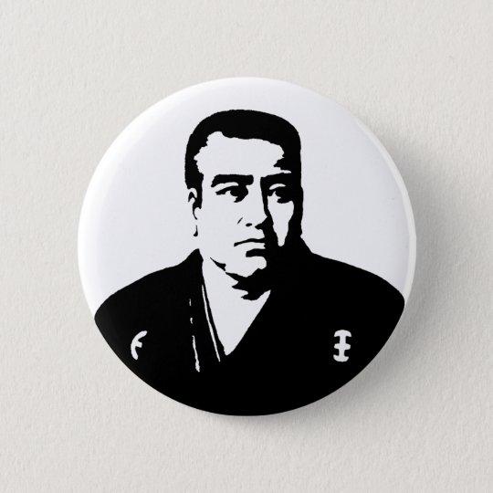 西郷隆盛 Saigo Takamori 5.7cm 丸型バッジ