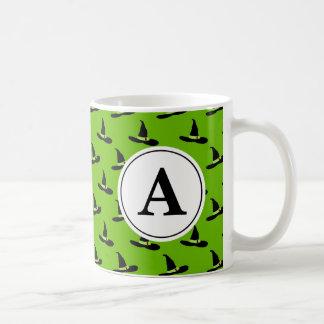 西Ozのモノグラムの悪賢い魔法使い コーヒーマグカップ