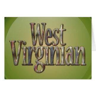 西Virginian_2迷彩柄 カード