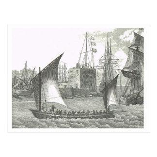 要塞の19世紀の信号 ポストカード