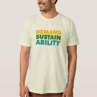 要求*支えて下さい*能力 Tシャツ