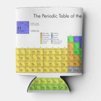 要素の周期表の科学的なおたく 缶クーラー