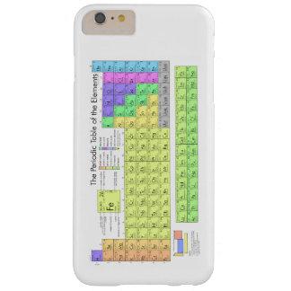 要素の周期表 BARELY THERE iPhone 6 PLUS ケース