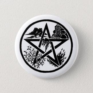 要素の星形五角形ボタン 缶バッジ